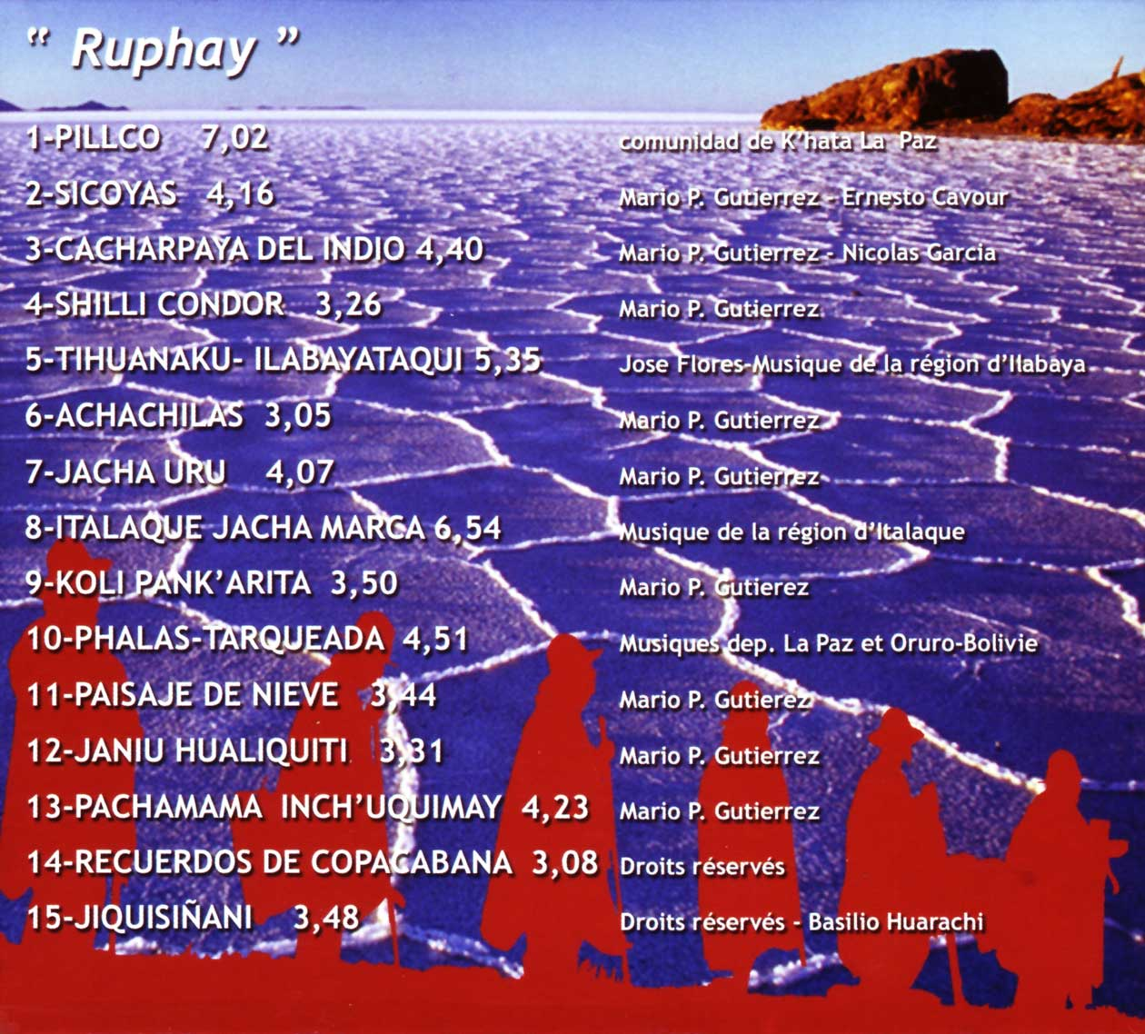 Ruphay - Musique et Tradition des Andes 1968 – 2008