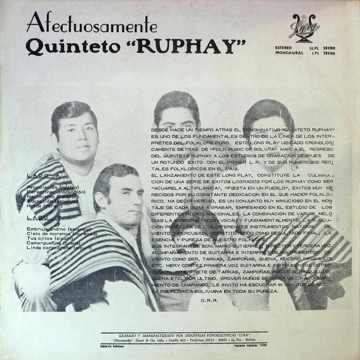 Ruphay - Embrujo andino