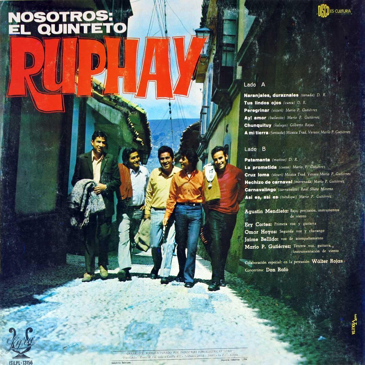 Nosotros: El quinteto Rhupay