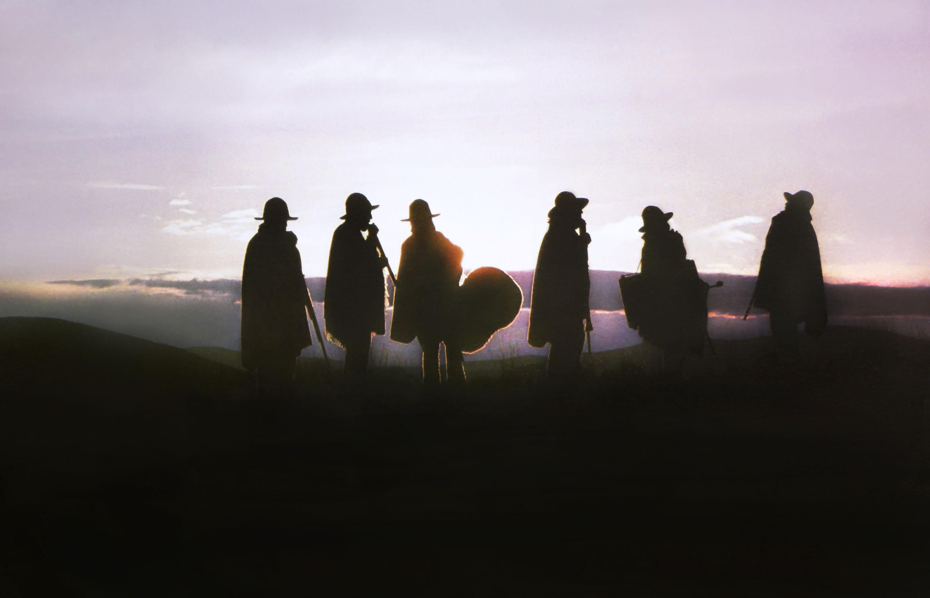 Ruphay im Altiplano in der Nacht - Pressefoto